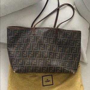 Authentic Fendi Zucca Tote Bag